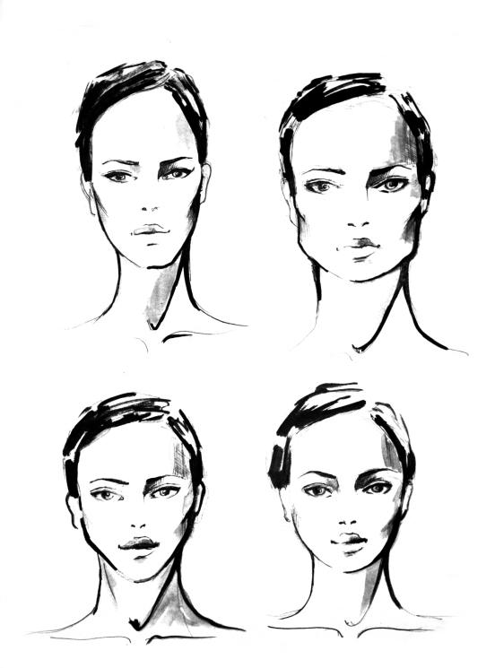 kształty twarzy